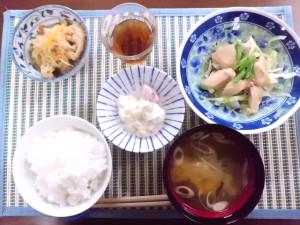 ひつじ雲の介護食(2015.9.18)