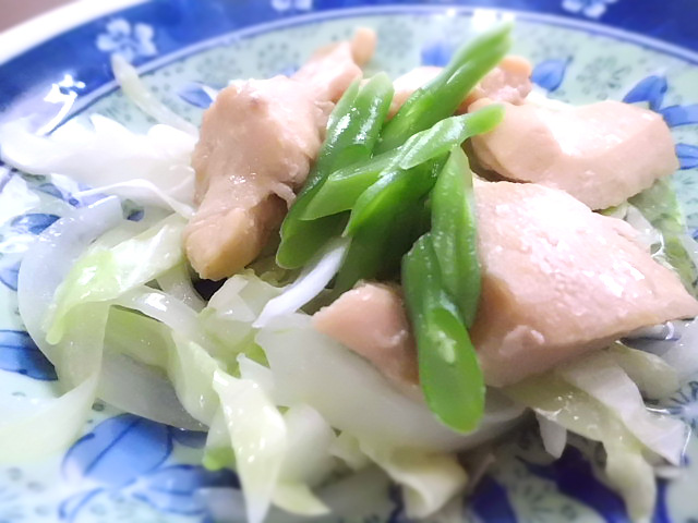 ひつじ雲の献立(2015.9.17):鶏肉のはちみつ煮