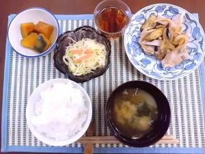 ひつじ雲の献立(2015.9.22)