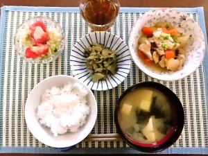 ひつじ雲の介護食(2015.10.04)