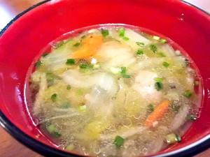 ひつじ雲の介護食(2015.10.14):肉団子と白菜のスープ煮