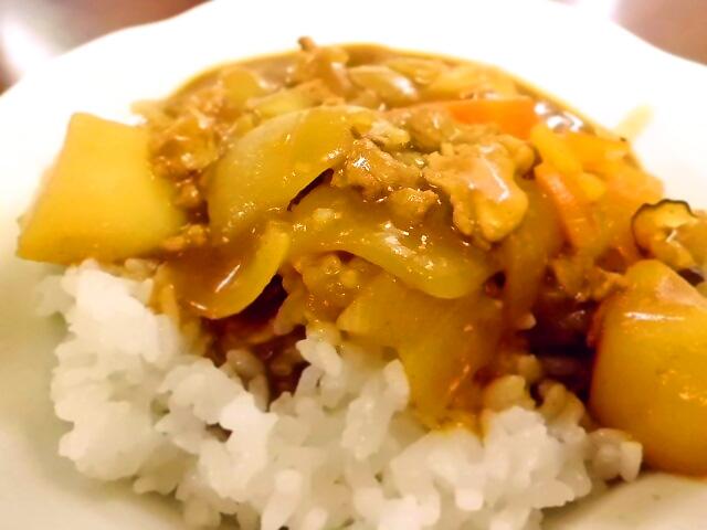 ひつじ雲の介護食(2015.10.16):カレー