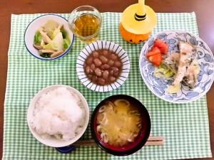 ひつじ雲の介護食(2015.10.19)