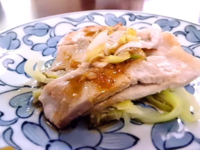 ひつじ雲の介護食(2015.10.22):豚肉のスタミナ焼き