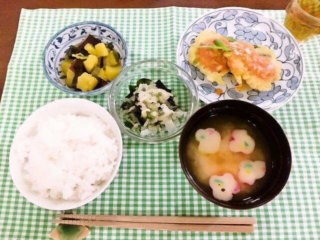 ひつじ雲の介護食(2015.10.23)