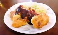 ひつじ雲の介護食(2015.10.29):鶏肉のピカタ