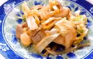 ひつじ雲の介護食(2015.11.29):鶏肉の韓国味噌炒め