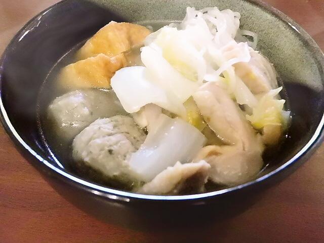 ひつじ雲の介護食(2016年1月10日):ちゃんこ鍋