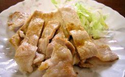 2017年9月17日の献立 ひつじ雲の献立:豚肉のピリ辛炒め