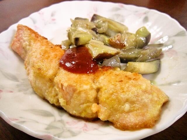 2017年9月27日の献立 ひつじ雲の献立:魚のカレー焼き