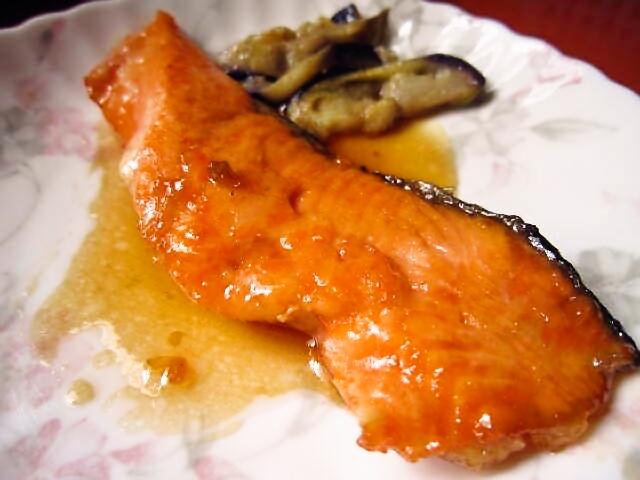 2018年6月16日の献立 ひつじ雲の献立:魚の照り焼き